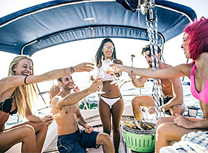 The best party was not on the boat