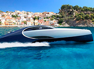 This is the yacht produced by Bugatti
