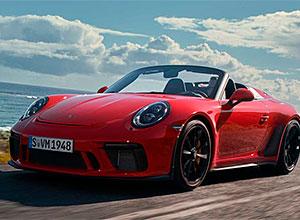 Porsche apresenta o 911 Speedster