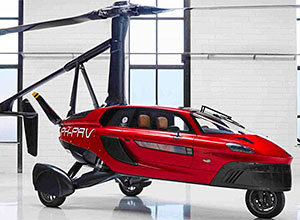 Pal-V Liberty: the world's first flying car