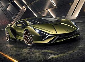 Lamborghini Sian: the fastest hybrid!