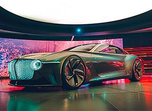 Bentley 100 GT: el coche del futuro