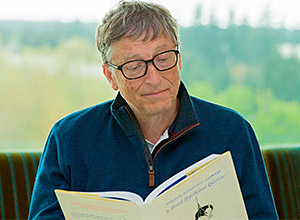 Aprenda a ler mais com Bill Gates