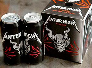 Banda Metallica lança sua linha cerveja