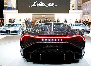 Bugatti La Voiture Noire: O carro mais caro de todos os tempos