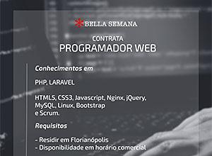 Contrata-se Desenvolvedor Web