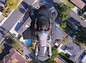 Conheça a moto voadora