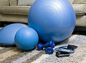 Exercícios para treinar em casa