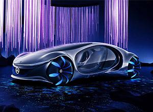 Mercedes-Benz é inspirado em Avatar