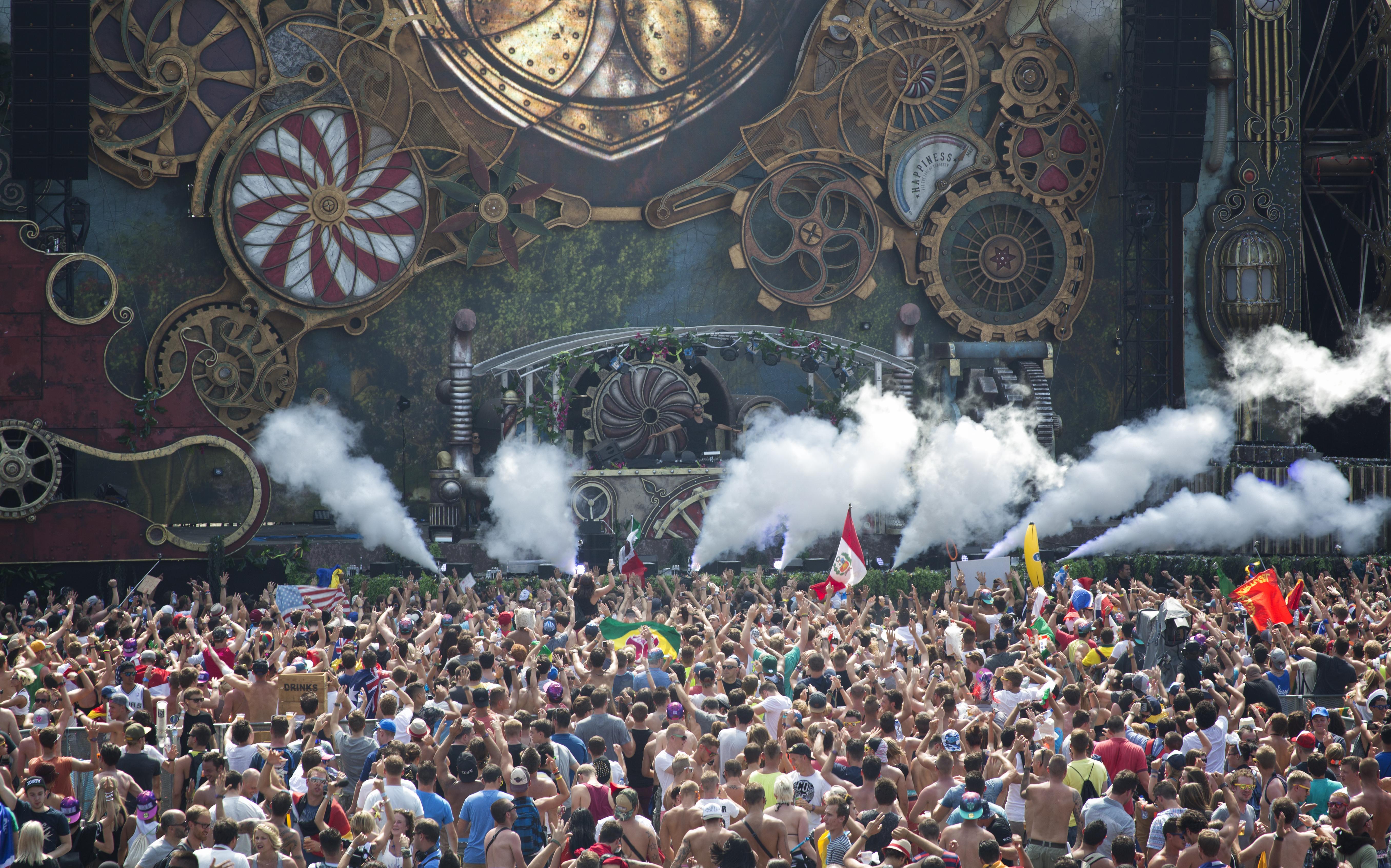 Bélgica - Tomorrowland